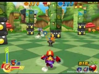 Vidéo Robo Smasher - Gameplay d'un jeu à l'univers cartoonesque