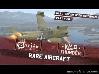 Vidéo War Thunder - Les avions difficiles à gagner