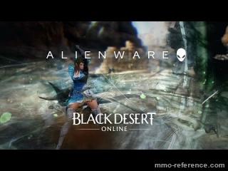 Vidéo Black Desert Online - Démo graphique avec l'AlienFX