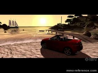Vidéo Test Drive Unlimited 2 - Trailer de la suite du jeu de course en ligne