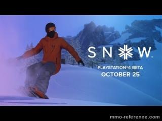 Vidéo Snow - La bêta playstation 4 est en ligne