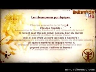 Vidéo Bilan du Goultarminator 2011
