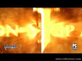 Vidéo PlanetSide - Trailer du  jeu de tir à la première personne en ligne