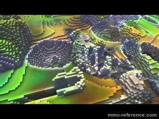 Vidéo Cube World - Mode multijoueur en version alpha