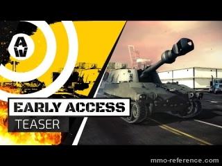 Vidéo Armored Warfare - Le lancement de l'accès anticipé