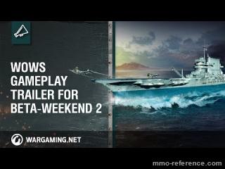 Vidéo World of Warships - Le porte-avion entre en jeu