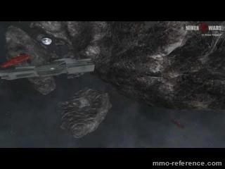 Vidéo Miner Wars 2081 - Vol à travers les asteroids