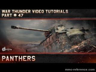Vidéo War Thunder - Les tanks panthers