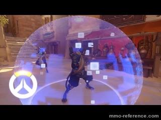 Vidéo Overwatch - Les capacités de l'effrayante Symmetra