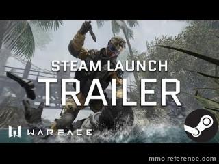 Vidéo Warface - Trailer de la bêta sur Steam