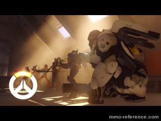 Vidéo Overwatch - Extrait du jeu de tir par équipe futuriste