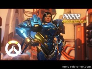 Vidéo Overwatch - Pharah explose ses adversaires avec ses roquettes
