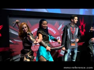 Vidéo Neverwinter à la Paris Games Week 2014