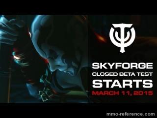 Vidéo Skyforge - La bêta ouverte arrive en ligne