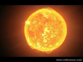 Vidéo Elite Dangerous - Une éruption solaire