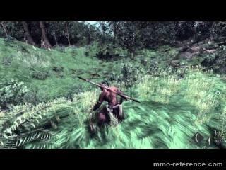 Vidéo The Stomping Land - Un troupeau de Gallimimus