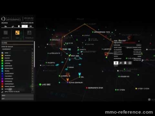 Vidéo Elite Dangerous - Gamescom 2016 Traceur d'itineraire