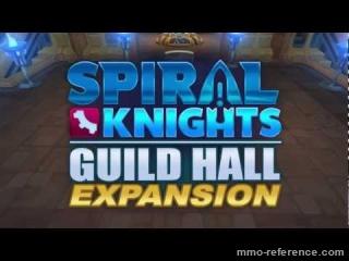 Vidéo Spiral Knights - Construire et organiser sa propre salle de guilde