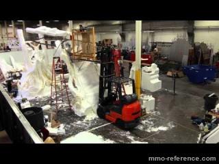 Vidéo Defiance - Constructon du stand E3 2012