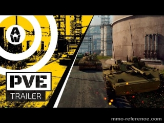 Vidéo Armored Warfare - Introduction du PvE avec des missions guidées par des histoires