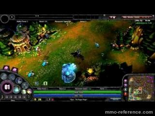 Vidéo League of Legends - Un aperçu du Gameplay du moba