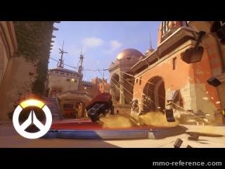 Vidéo Overwatch - Les capacités de la responsable de la sécurité Pharah