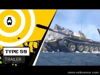 Vidéo Armored Warfare - Le char de combat Type 59