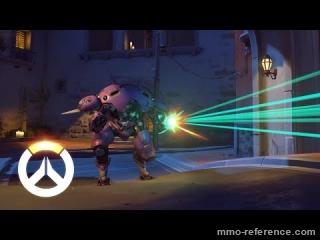 Vidéo Overwatch - Les capacités de D.Va et de son Mecha