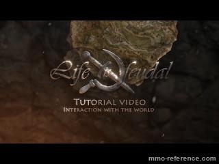 Vidéo Life is Feudal - Interaction avec l'environnement