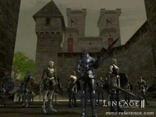 Vidéo Lineage 2 - Prelude d'une guerre de siège de château