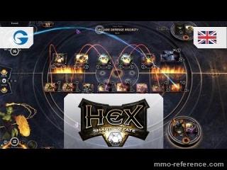 Vidéo HEX: Shards of Fate - Teaser du nouveau MMOTCG gratuit en ligne