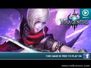 Vidéo Nova genesis - Le mmorpg d'aventure sur facebook