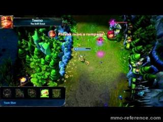 Vidéo League of Legends - Aperçu du nouveau patch dans une partie en ligne