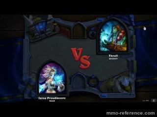 Vidéo Hearthstone Heroes of Warcraft - Mage vs. Shaman