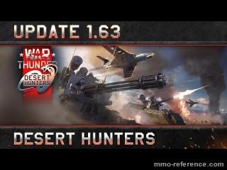 Vidéo War Thunder - Nouvelle mise à jour 1.63 Desert Hunters