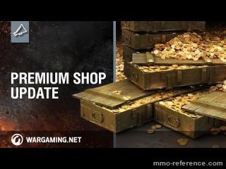 Vidéo World of Tanks - Mise à jour du magasin d'objets premium