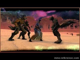 Vidéo Champions Online - La lune rouge