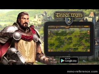 Vidéo Jouer à Tribal wars 2 maintenant sur tablette Android