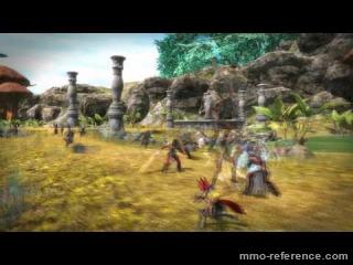 Vidéo Azera - Gameplay du Mmo