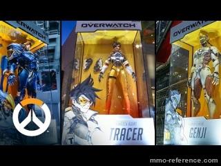 Vidéo Overwatch - La création des figurines les plus grandes du monde