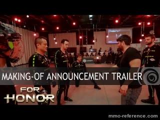 Vidéo For honor - Making-of  et découverte du jeu
