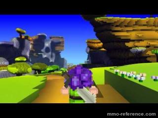Vidéo Cube World - Découvrtre du monde pixel