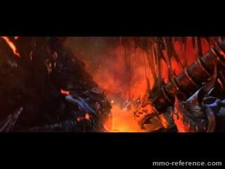 Vidéo Wow - Cataclysm - Cinématique de l'extention du mmorpg