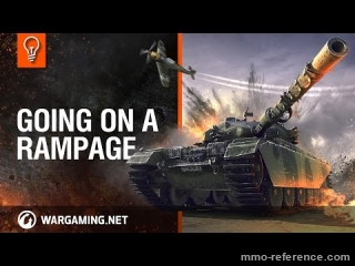 Vidéo World of Tanks - Le nouveau mode rapide et brutal Rampage