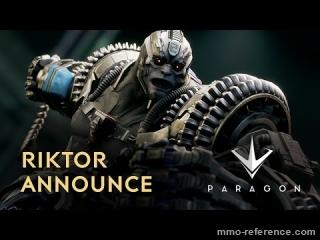 Vidéo Paragon - Découvrez le héros Riktor