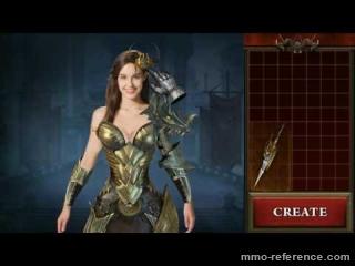 Vidéo League of Angels 2 - Le personnage de Theresa