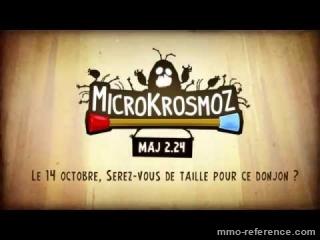 Vidéo Dofus - Trailer de la mise à jour Microkrosmoz