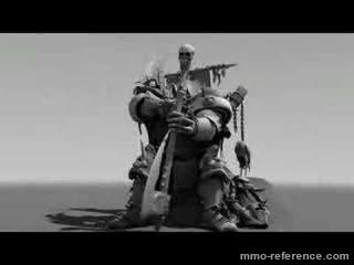 Vidéo Panzar - Premier test d'un rendu de personnage