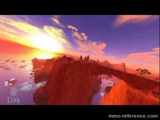 Vidéo Second Life - Baladez vous dans le grand canyon