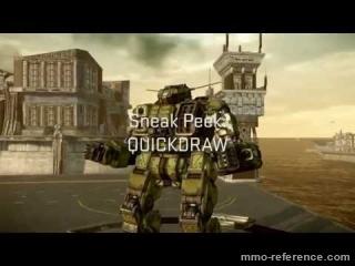 Vidéo MechWarrior Online - Quickdraw